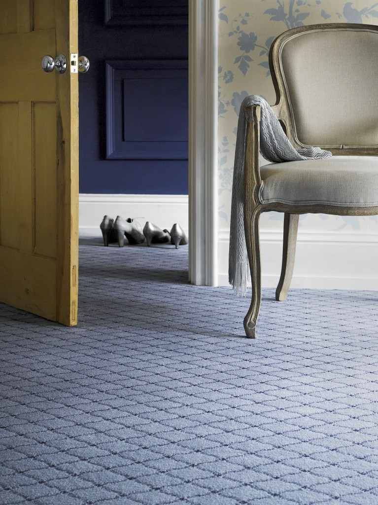 Catherine - CL11 Powder Blue 'Really stands out and is a truly beautiful carpet' - British Wool Marketing Board