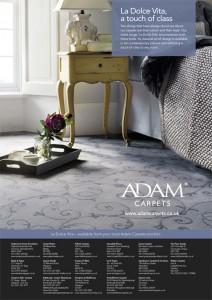 K7730_Adam Carpets_Dolce-Vita-full page ad.indd