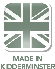 Made in our own factory in Kidderminster