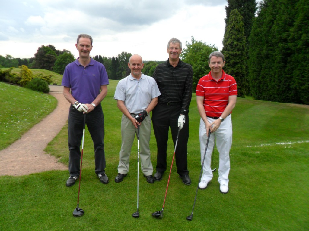 Left to Right: Tony Quinn (Operations Director), Tony Cook (Business Development Manager), Alan Folwell (Chairman) and Eamonn Prescott (Sales Director)
