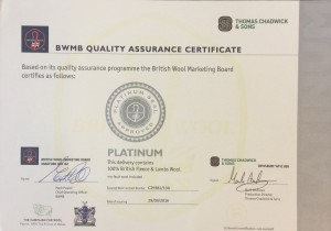 Castlemead Twist is Certified Platinum