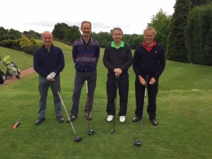 Adam Carpets Left to Right Tony Cook, Tony Quinn, Eamonn Prescott and Alan Couch (Cameron Lee Carpets)